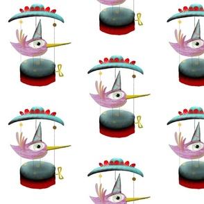 A 2 February 2011 - Carrousel secret music bird box