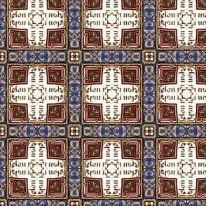 Medieval plaid