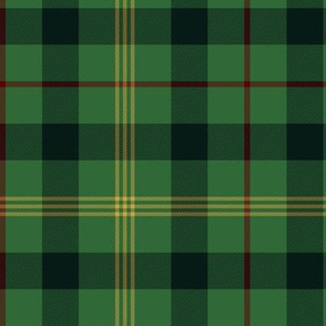 "Paton family tartan, 6"" greyed modern colors"