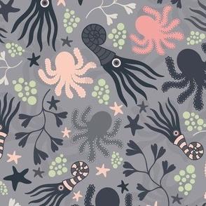 Cephalopods Grey