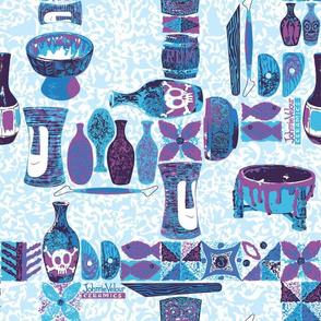 JV Ceramics Blue