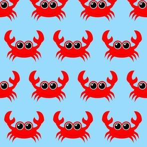 Crabby Crab Light Blue