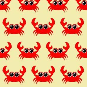 Crabby Crab Light Yellow
