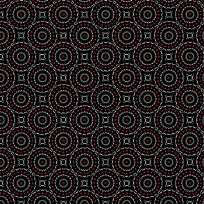 Round Square Kaleidoscope