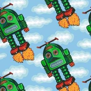 Robots Fired Up!