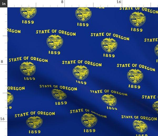 Flaggen Amerika Oregon Usa Vereinigte Staaten Bundesland