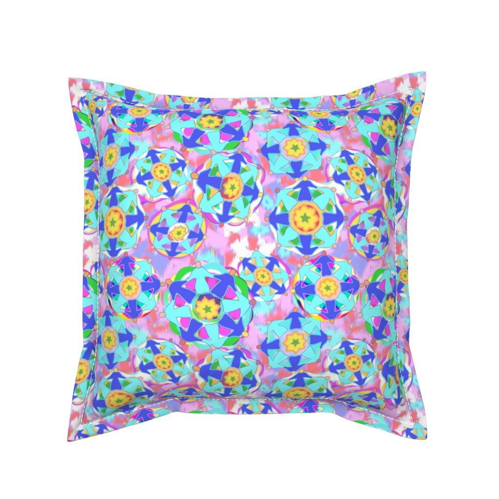 Serama Throw Pillow featuring DWG Heart is a Jewel Box by bloomingwyldeiris