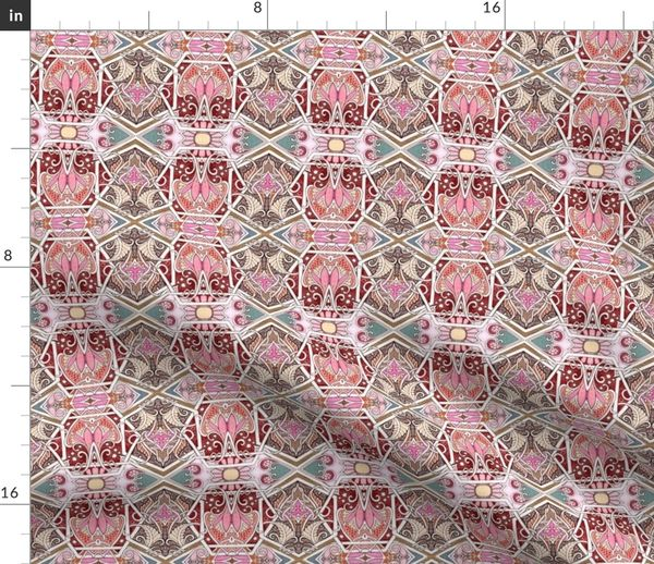 victorian gothic interlink subdued colo spoonflower spoonflower