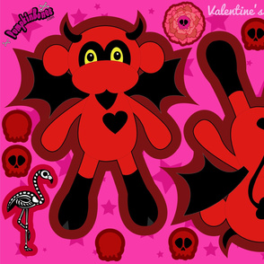 Devil Cut & Sew Pillow Doll (YD)