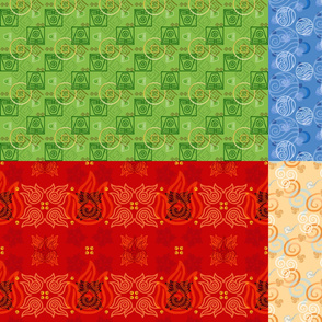 Avatar Fat Quarter Package Small Scale