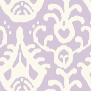 Lavender ikat