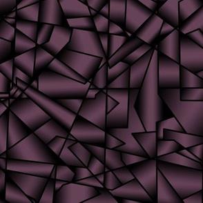 015 Ice crystals - plum