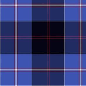 """Dunlop tartan , 6"""" blue"""