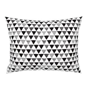 b1fe8c6276f36 Geometric tribal aztec triangle black and on Catalan by littlesmilemakers |  Roostery Home Decor