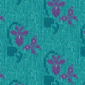 Embroidered-sweater1-violet-on-turq-sweater-4in-view-swatch-to-see-texture-Adobe1998