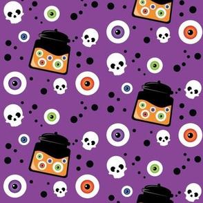 Wee Spooky Eyeballs Jar