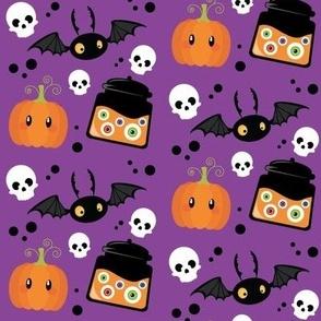 Wee Spooky Halloween - Purple