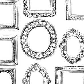 picture frames mono