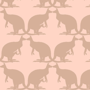 Kissing Kangaroos ~ Elizabeth on Lauffer