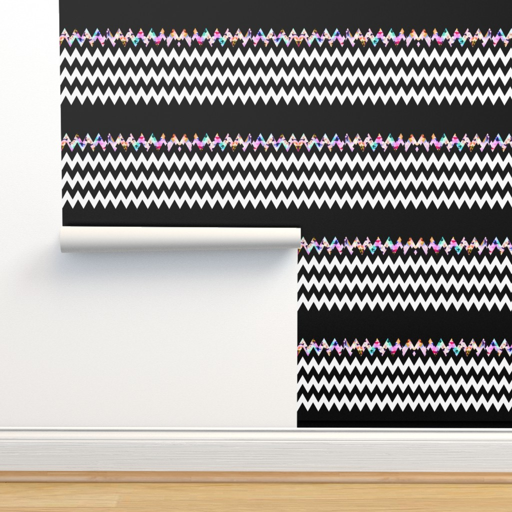 Isobar Durable Wallpaper featuring Black Magic by ornaart