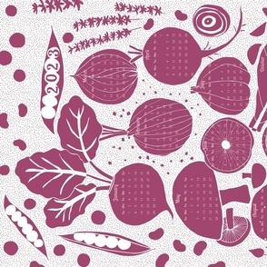 garden bounty (red-violet)