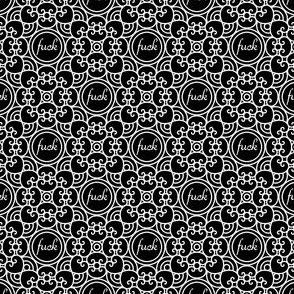 Delicately Speaking Black and White 1 -Medium