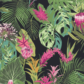 Tropical jungle pattern