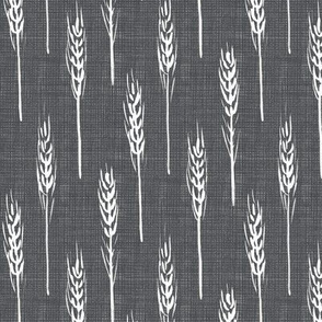 wheat - Grey Linen