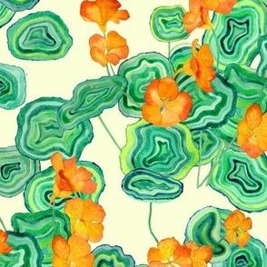 Malachite Floral