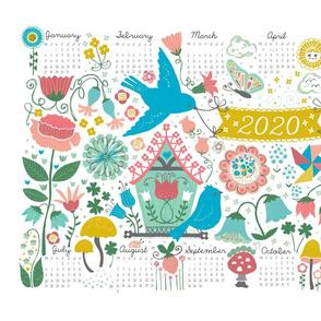 2020 Birdhouse Calendar