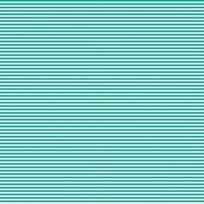 Tiny Stripes Aqua