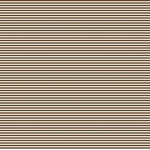 Tiny Stripes Brown