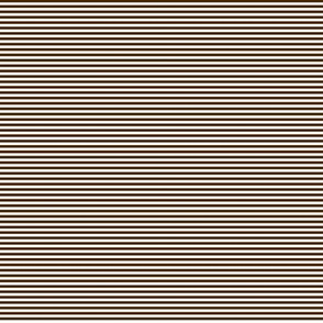 Tiny Stripes Chocolate Brown