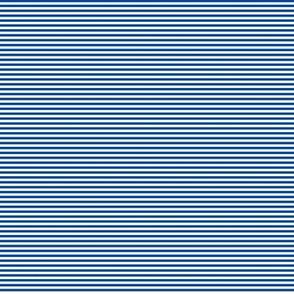 Tiny Stripes Dk Blue