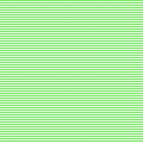 Tiny Stripes Lime Green