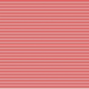 Tiny Stripes Red
