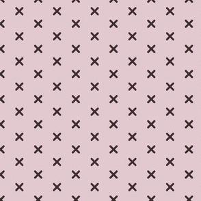 Lilac Cross Stitch