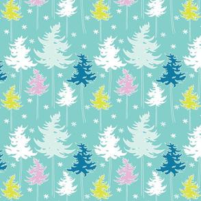 Winter Trees - ice