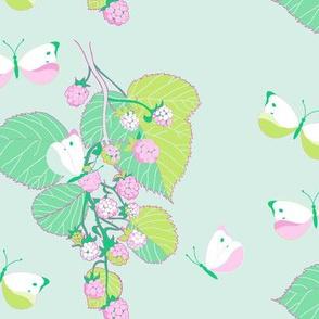 Butterflies & Berries - Sorbet