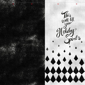 Holiday Spirits Easy Cut and Sew