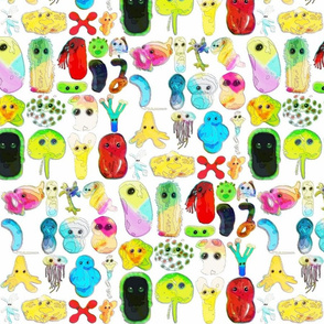 RAINBOW MICROBES!