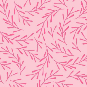 Hot Pink Sprigs