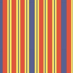 Rich Flower Girl Stripes