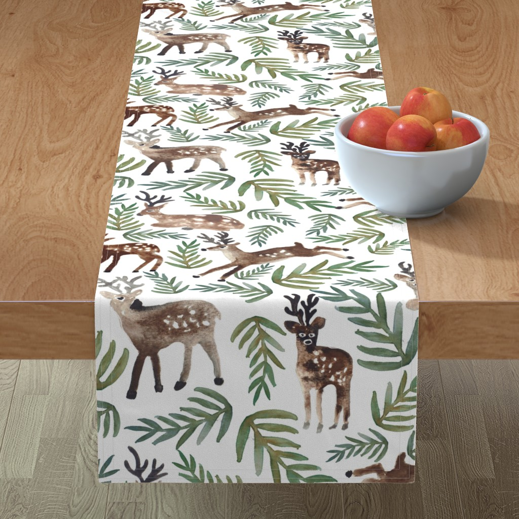 Minorca Table Runner featuring Loved Dearly (Large) by shelbyallison