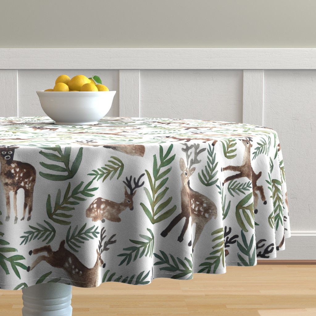 Malay Round Tablecloth featuring Loved Dearly (Large) by shelbyallison