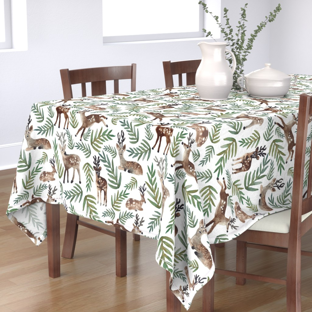 Bantam Rectangular Tablecloth featuring Loved Dearly (Large) by shelbyallison