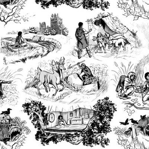 Post Apocalyptic Toile - a War Torn Land