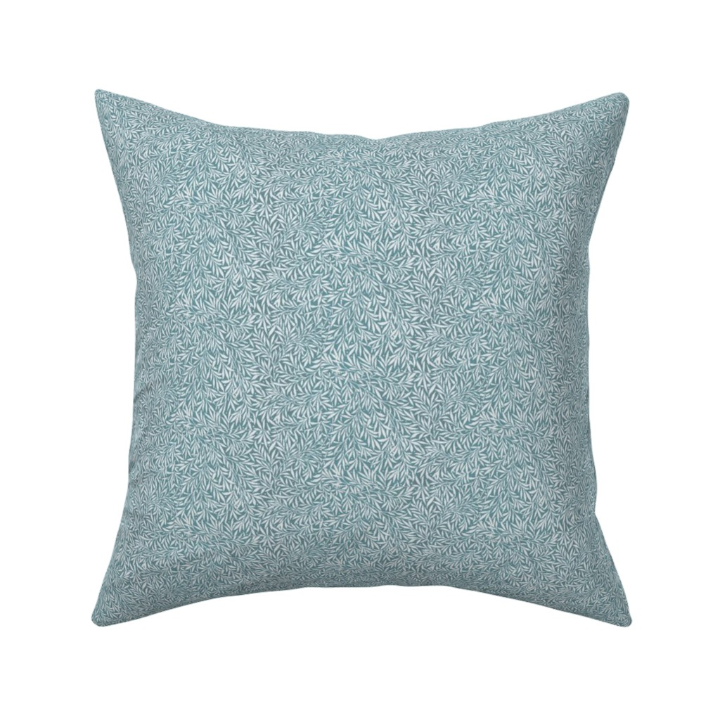 Catalan Throw Pillow featuring Empire Willow by amyvail