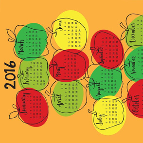 2016 Apple Calendar