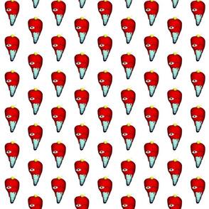 A 7 February 2011 - Icecream cone Yummy Fabric Sweet in a girl's room